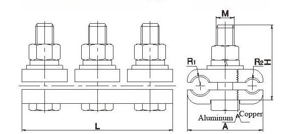 JBTL Cu&Al Parallel Groove Clamps