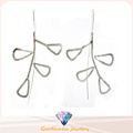 Woman′s Fashion Jewelry and High Quality 925 Silver Earring (E6579)