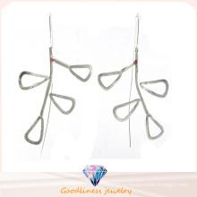 Женские ювелирные изделия способа и серебряная серьга высокого качества 925 (E6579)