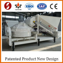 Mini electric mobile concrete batching plant price