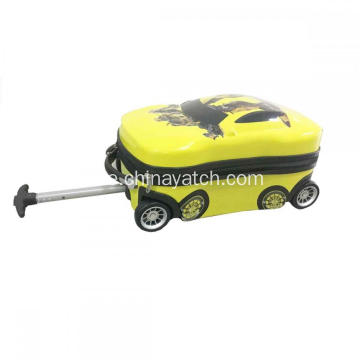 Mini Car Shape Kids Enkel vagn Bagage