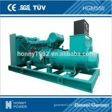 Googol 500kVA Voltage Low 380V Diesel Genset For Civil Use