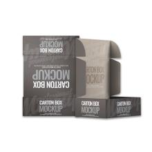 Hot selling product corrugated small size boxes custom mailer box 50pcs