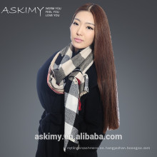 2015 moda lana cachemira bufanda fábrica de Inner Mongolia china
