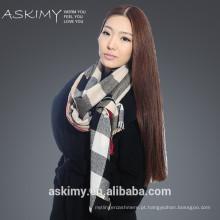 2015 moda lã caxemira cachecol fábrica de Inner Mongolia china