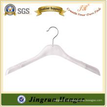 Mais vendidos para vestuário de plástico, gancho de suspensão de K-resina para roupas