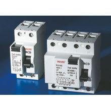 Earth Leakage Residual Current Circuit Breaker With Double Pole For Over Current Protection