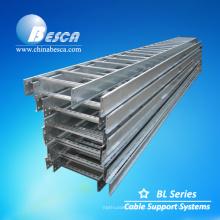 Escaleras de cable de perforación de proveedor de acero galvanizado al aire libre