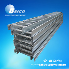 Fire Power Station Hot Dip Cable Ladder For Cable Laying With UL, CE Certificate