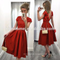 2017 Aliexpress Ebay hot sell solid color woman dress Stitching sexy women dress with backless design