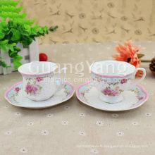 Delicate Design Artwork Ceramic Custom Cups