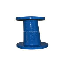 Reductor de accesorios de tubería de hierro dúctil