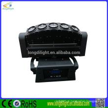 5 * 10W Varredura Beam LED Moving Head Light / feixe girando palco luz / luz bar