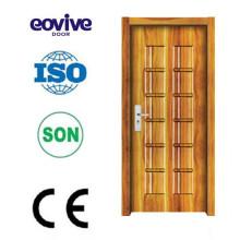 Dessins de porte en bois modernes du intérieures insonorisées mélamine