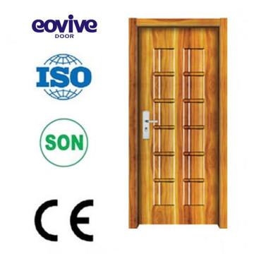 Projetos de porta de madeira interiores à prova de som melamina modernos