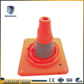 Collapsible usb rechargeable easy to carry road cone