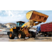 SEM 660D Wheel Loader Dengan Log Grapple