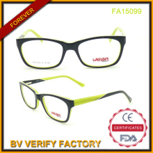 Best Selling Unisex Acetate Eyeglasses with New Design (FA15099)