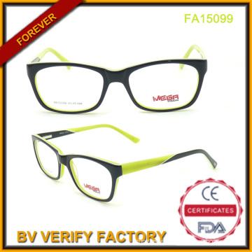 Best Selling Unisex Acetate Eyeglasses with New Design (FA15099)
