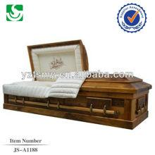 caixão de cremação de qualidade por atacado