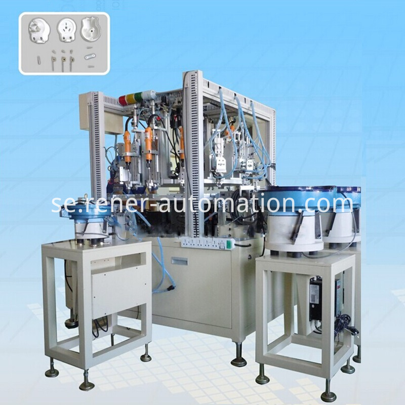 Assembly Machine For Plastic Hardware