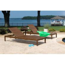 Vente chaude de meubles de plage composée de plein air en plein air