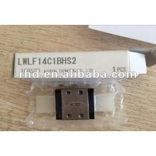 IKO Caminho linear, guia linear série LWLF. Unidade deslizante LWLF14C1BCSHS2