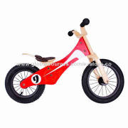 2014 New and Popular High Quality and Hot Sale Balance Wooden Kids' Bike, W16C052