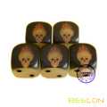 High Quality Full Color Printing Glowing Dice