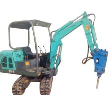 Mini máquina escavadora 800kg para a exploração agrícola