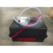 Bateria solar de bateria 250A Caixa de bateria solar impermeável subterrânea