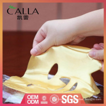 China fabricante de pó de ouro antiwrinkle máscara facial para atacado
