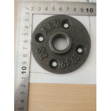 floor flange used in wrought pipe furniture