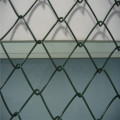 PVC coated dark green chain link fence
