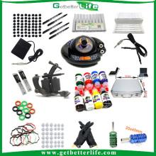Getterbetterlife Customized 1Tattoo Machine UFO Power Supply Tattoo Kit Sale