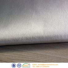 tecido de sarja cinza de algodão poli