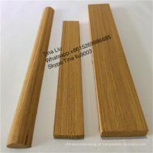 Moldagem de madeira de teca projetada