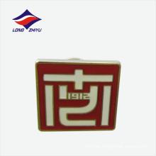 Insignia simbólica de encargo de la solapa de la forma del rectángulo de la escuela