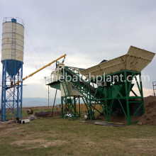 Portable Concrete Batching Plant Tanzania