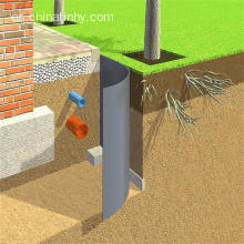 Root barrier 2mm hdpe geomembrane para la agricultura