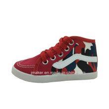 Zapatos de lona al por mayor de los niños al por mayor de China (H266-S)