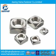 Шток высокого качества DIN557 Квадратные гайки из нержавеющей стали