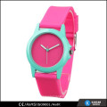 silicone quartz wristband watch custom