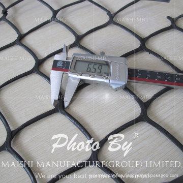 HDPE malla de malla de plástico extruido