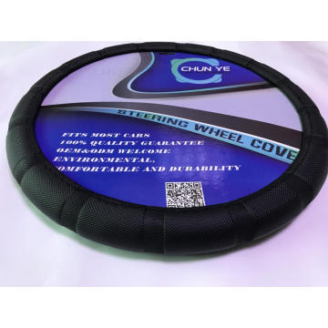 Promotional wholesale pvc steering wheel cover