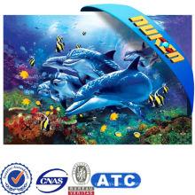 2015 Blue A1 Poster impresión con animales