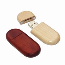 USB Flash Drive 32 GB Sleutelhanger Houten USB Stick