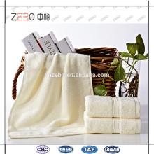 Factory Directly 16s Sateen Style Cotton Wholesale Ensemble de serviettes d'hôtel