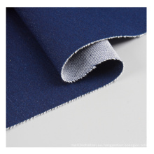 Stretch Denim Medium Indigo Jeans Fabric