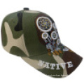 Baseball Cap with Camo Fabric Bb245
